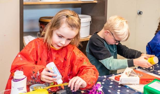 Kinderen brengen hun creativiteit in de praktijk. Dat kan nu ook weer bij Kunstencentrum Idea.