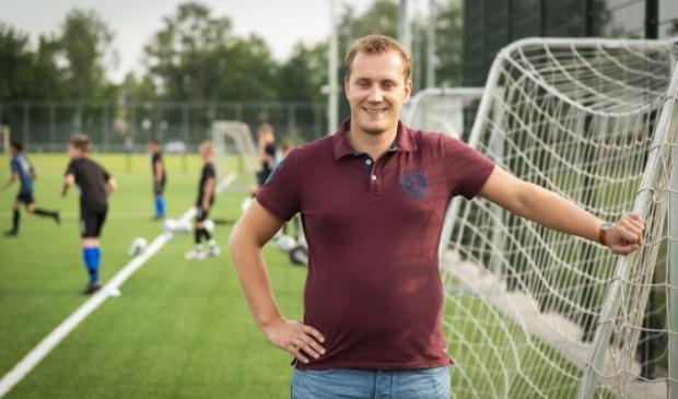 SDVB-jeugdvoorzitter Sjoerd Jansen: ,,Zo'n tweehonderd vrijwilligers hebben in een paar weken tijd het werk gedaan waar we normaliter maanden over doen.''