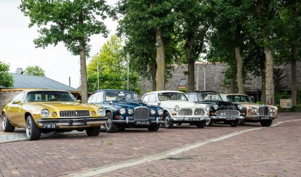 De klassiekers van Classic Cars Barneveld.