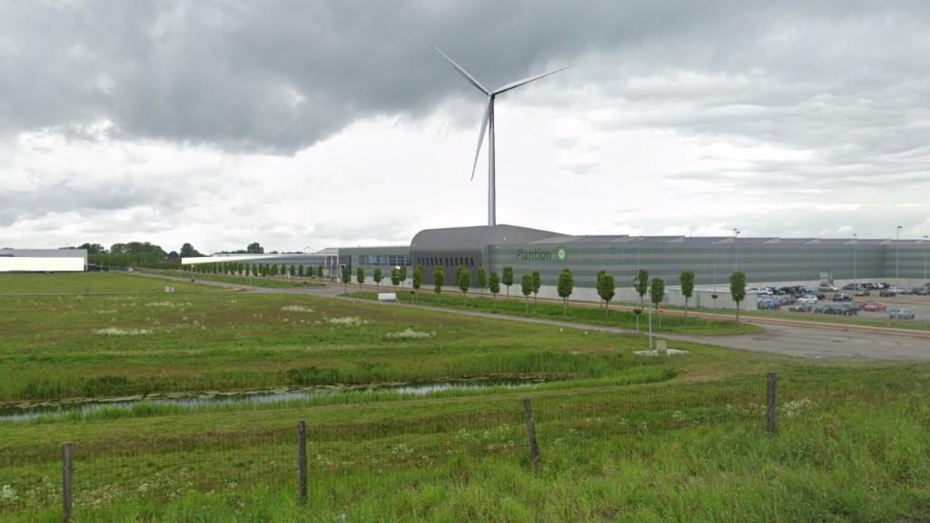 Visualisatie van de windmolen. Plantion © BDU Media