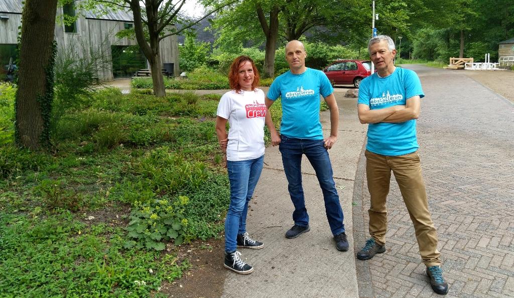 Floor Visser, Mik Borsten en Jaap Hengeveld. Obstaclerun © BDU media