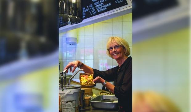 Anja Stolte: ,,Ik nodig de burgemeester uit voor een ambachtelijk frietje.''
