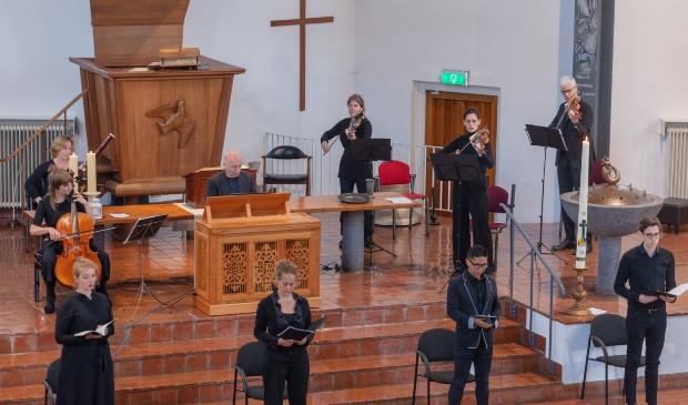 Het Bach Ensemble Amsterdam.