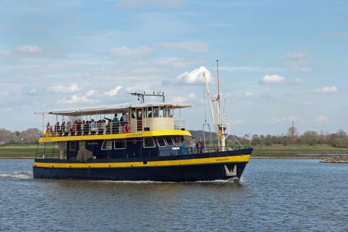 De Blauwe Bever vaart weer vanaf 4 juli over Rijn en Lek