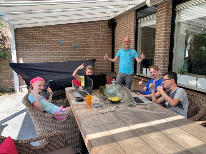 7e plek voor Vera, Jeroen, Figgo en Daniel van de Valkenheuvel!