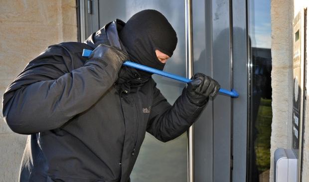Onder meer het aantal inbraken is in de eerste helft van dit jaar in Woudenberg toegenomen.
