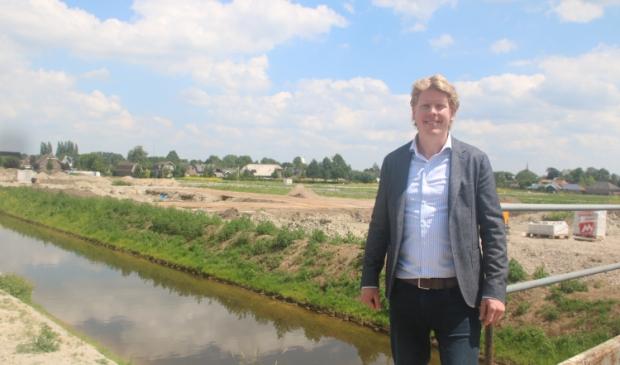"""Hertbert Bosch van SamenThuis Vastgoedontwikkeling: ,,De woningbehoefte blijft hier groot."""""""