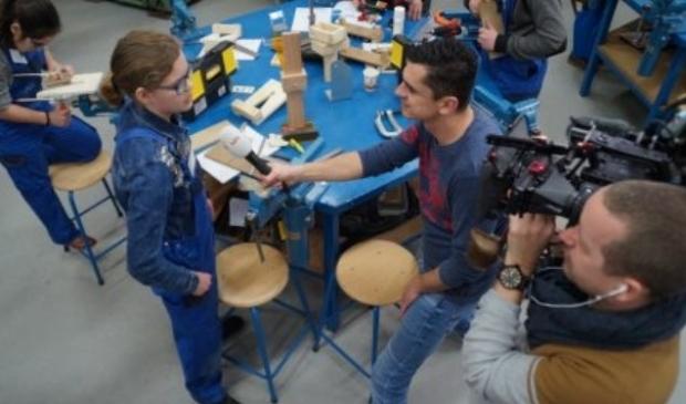 In februari maakte de NOS nog tv opnames op 't Gilde vakcollege