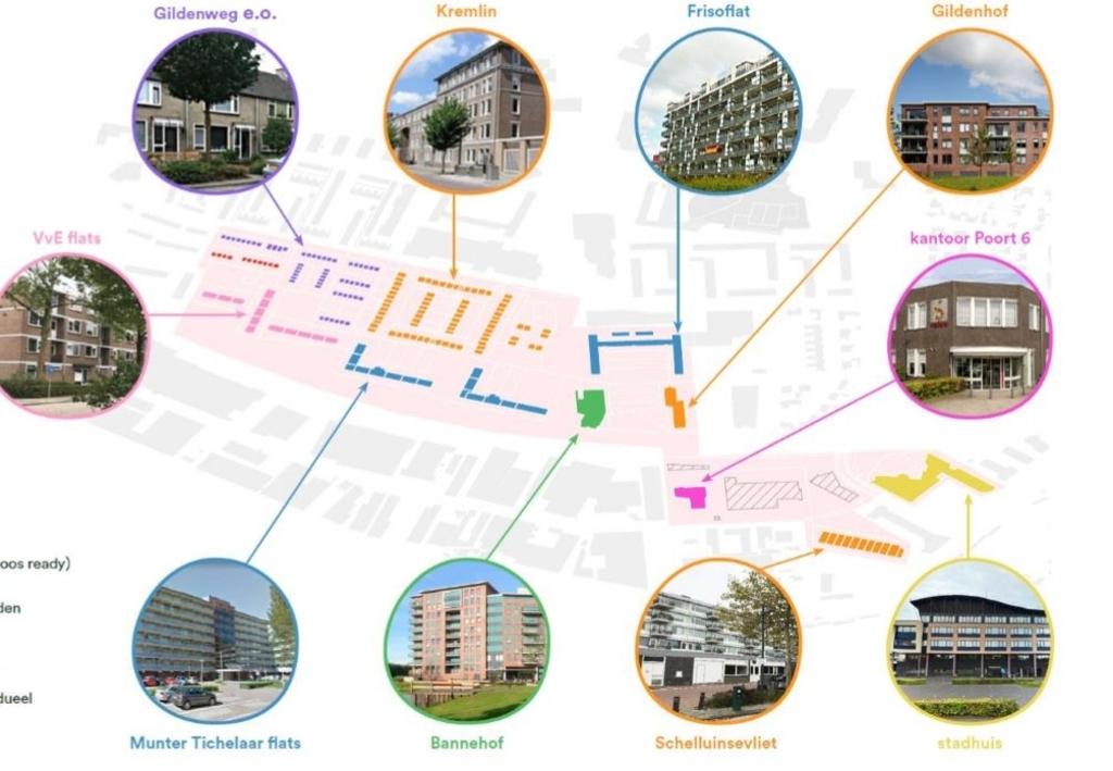 Het warmtenet in de Gildenwijk wordt vanaf 2022 aangelegd Gemeente Gorinchem © BDU Media
