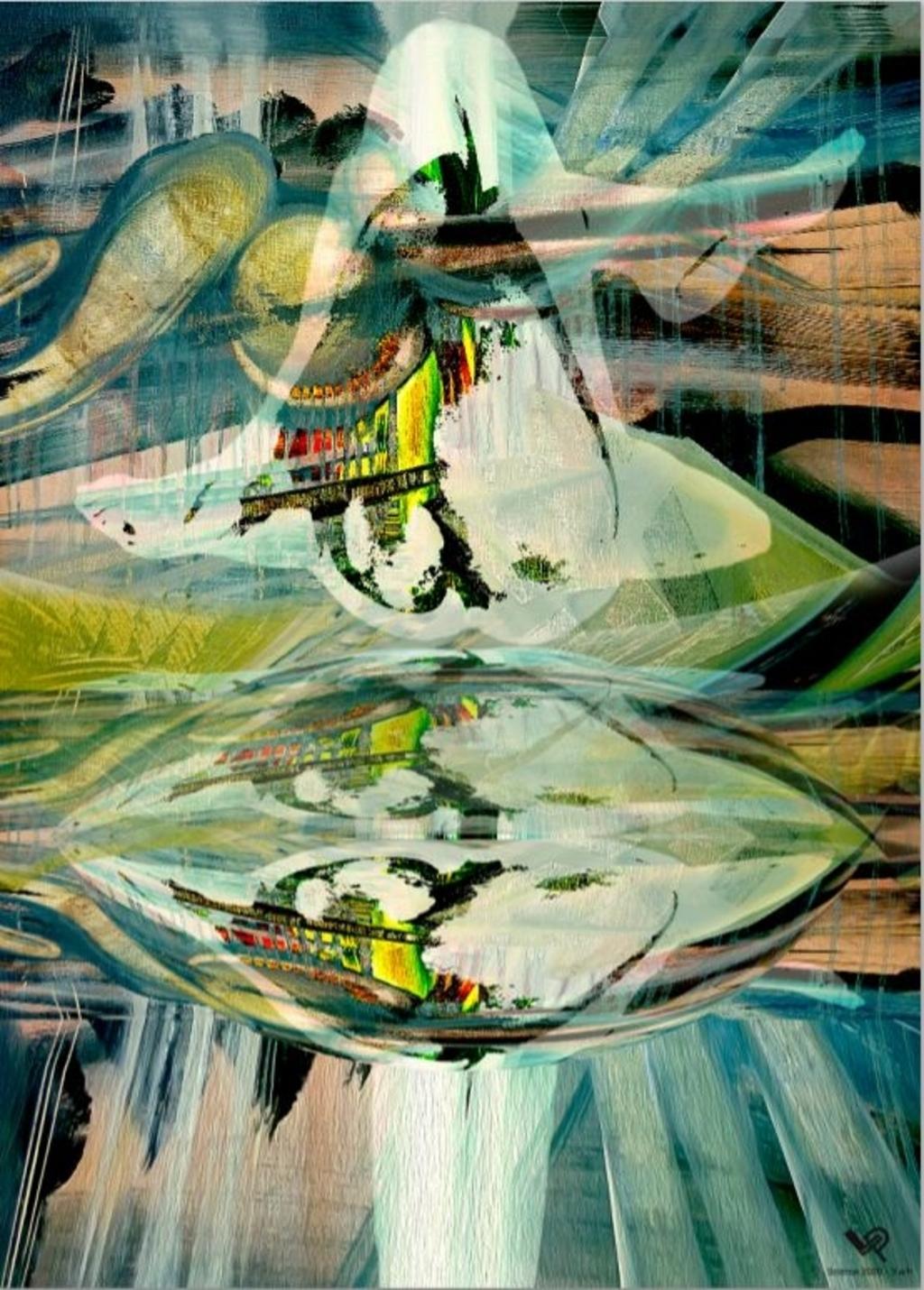 Werk van Pascale Lefebvre. Eigen foto © BDU media