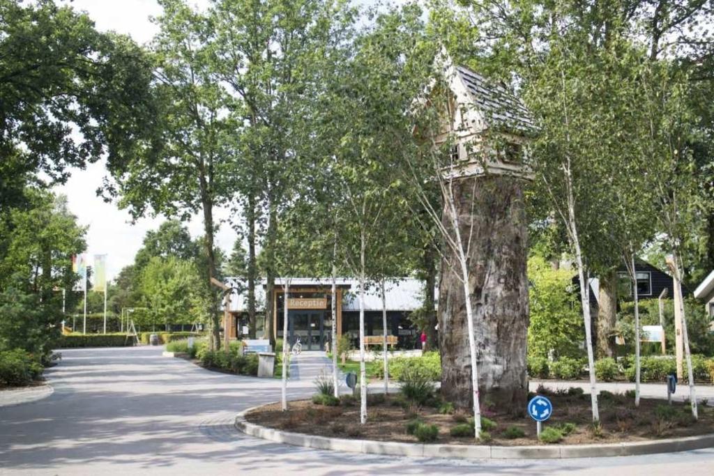 De entree van vakantiepark De Wije Werelt in Otterlo. EuroParcs © BDU media