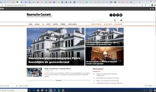 De nieuwe website ziet er eigentijdser uit.