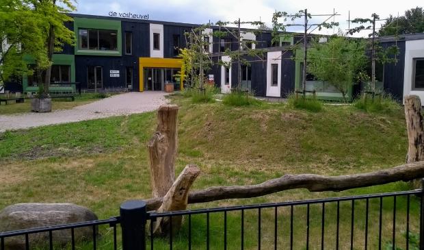 Nieuwbouw op het terrein van De Vosheuvel.