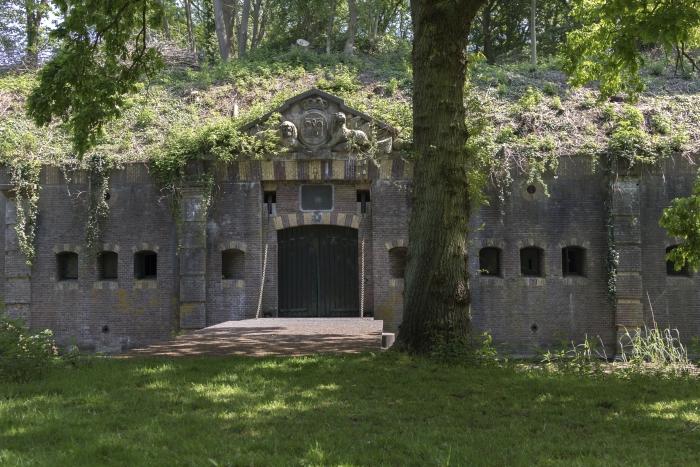 Reduit van het fort bij Rijnauwen