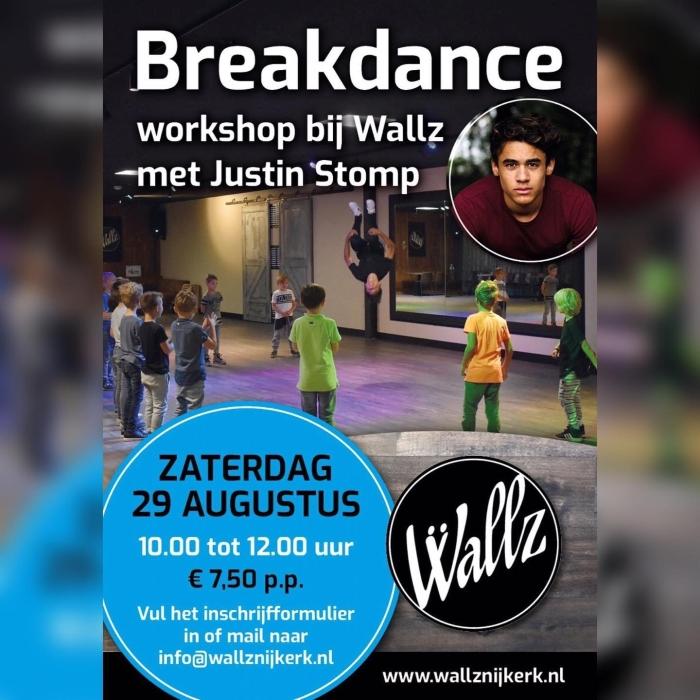 Foto van de breakdance zaal