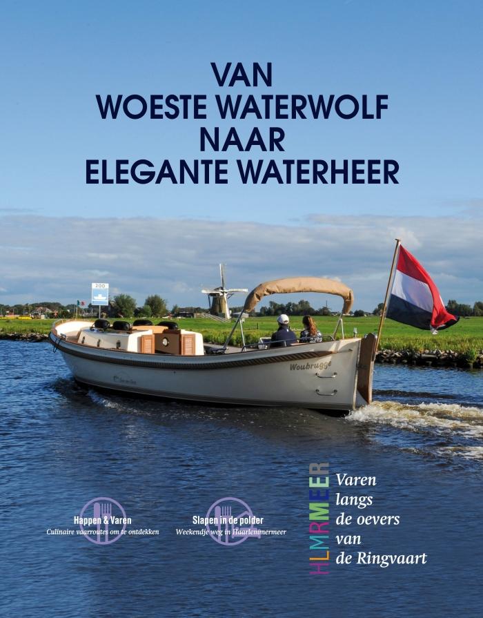 """Cover van het magazine """"Varen langs de oevers van de Ringvaart"""""""