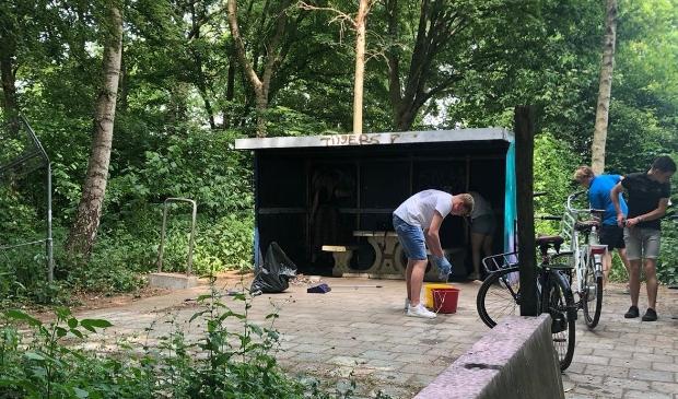 <p>In Odijk zijn plannen voor de bouw van een Jongeren Ontmoetingsplek (JOP), zoals hier aan de Tolhuislaan in Bunnik</p>