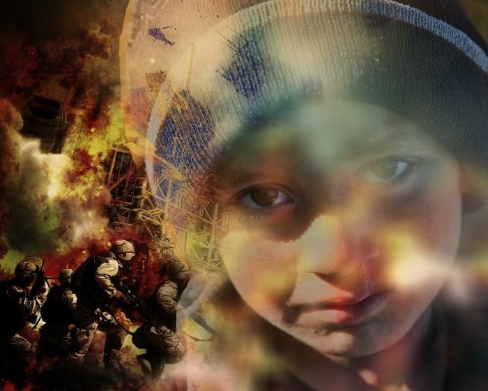Vluchtelingkind