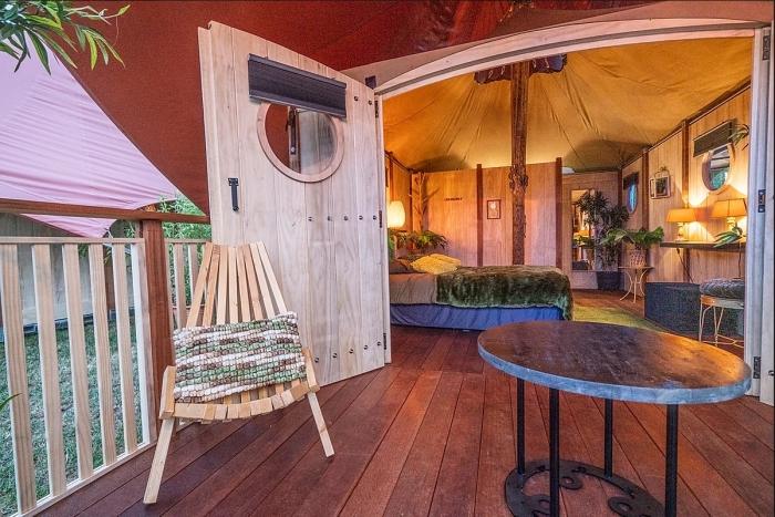 Dormer Cabin bij Glamp Outdoor Camp Veluwe
