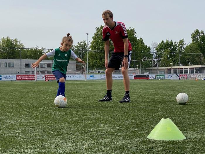 Voetballen bij De Voetbalschool