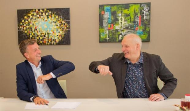 links Remco Wijnia & rechts Albert Rechterschot