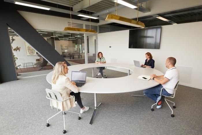Coronaproof vergaderen en flexwerken in De Nieuwe Stad Flexplek