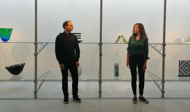 Musicus Laurens de Boer en kunstenares Pascale Lefebvre.