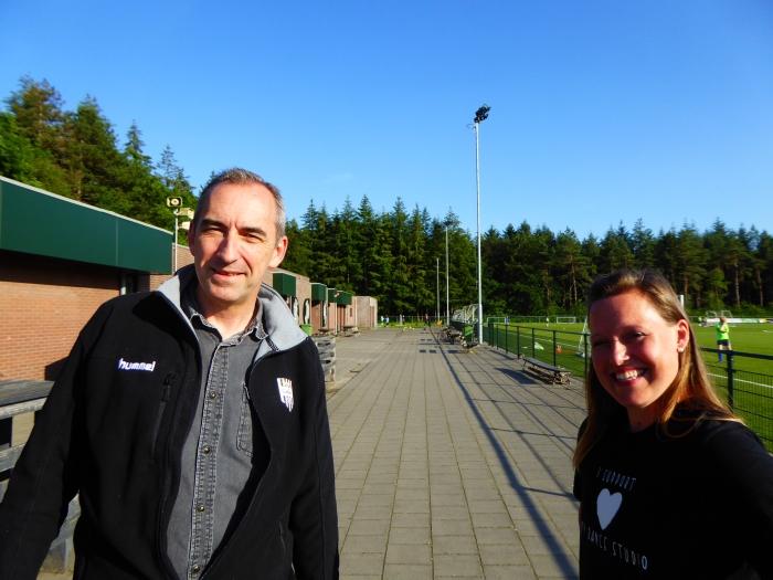 Annika van der Blom van BlomDance en Gerd de Kruif van SVMM zijn blij met de samenwerking