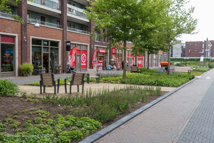 Zitje op vernieuwd plein René van den Brandt © BDU media