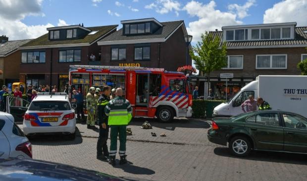 Zaterdagmiddag vond een dramatisch ongeluk plaats op de Meent in Odijk Koen Laureij © BDU media