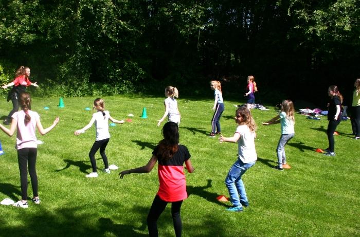 Sporten bij het Amstelbad