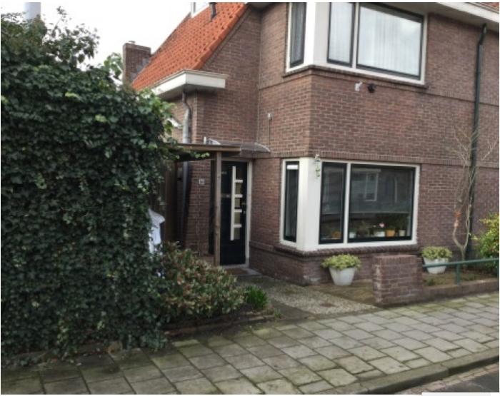 De woning van Hans Molengraaf in Gorinchem