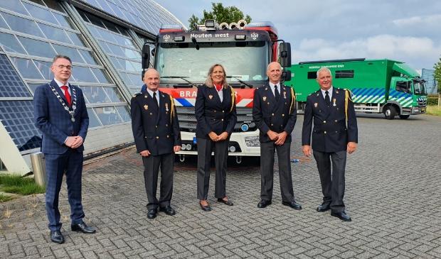De Koninklijke onderscheidingen voor  René Steehouder, Rob de Kruijf en Wim Hartman