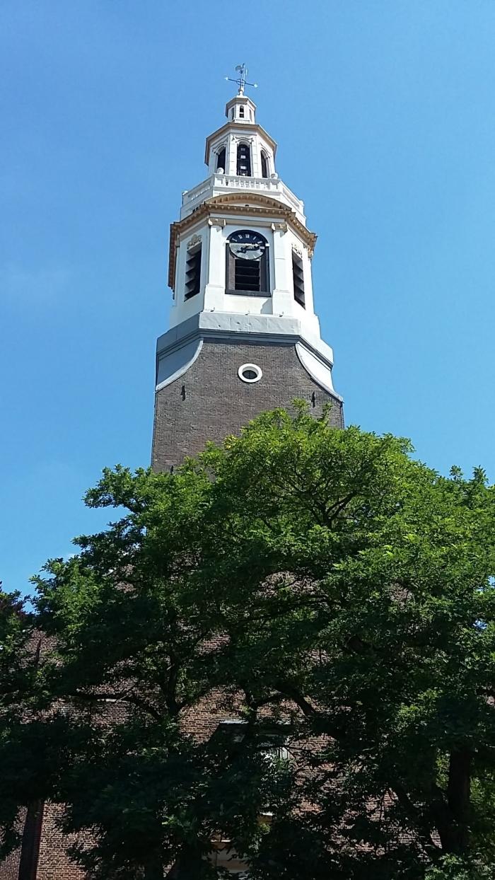 De witte toren van nijkerk.