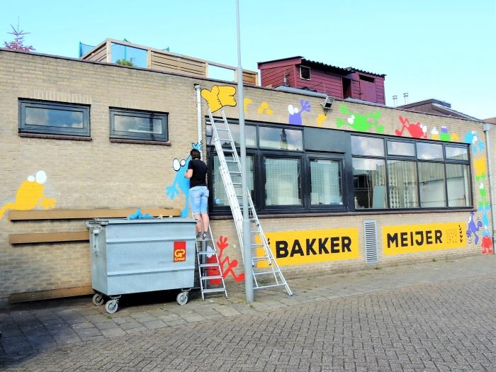 Schilderen Hans Blomvliet © BDU