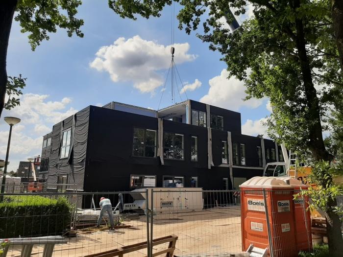 Totaal 2100 m2 aan bouwunits is geplaatst ZorgSpectrum © BDU media