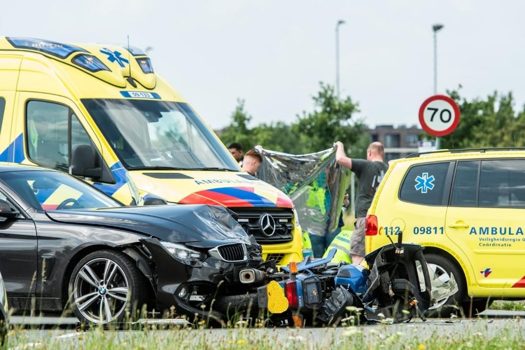 Ongeluk op de rondweg Koen Laureij © BDU media