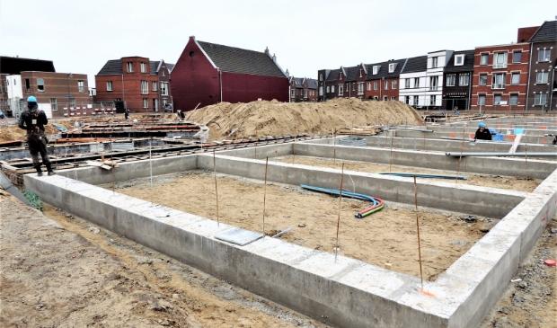 <p>Nieuwbouw in IJmuiden.</p>