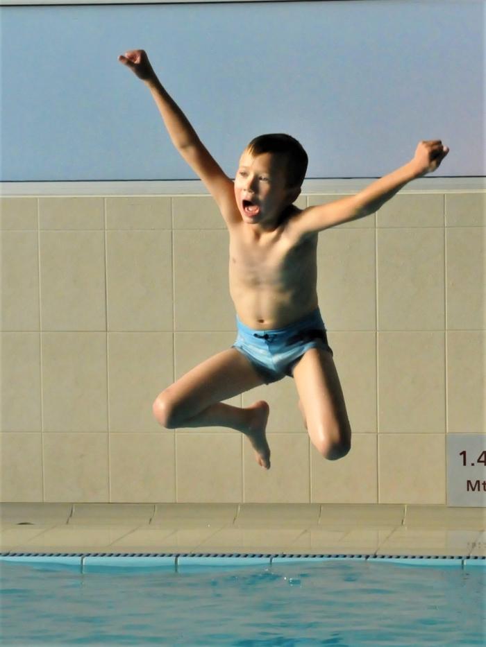 geslaagd voor ZwemDiploma B Hans Venendaal © BDU Media