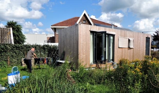 <p>Een tinyhouse in Heemskerk. Straks ook te zien in Haarlemmermeer? &nbsp;</p>