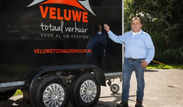 Eigenaar Wilberd Pater van Veluwe Totaal Verhuur. ,,Van begin tot eind de juiste service en kwaliteit.''