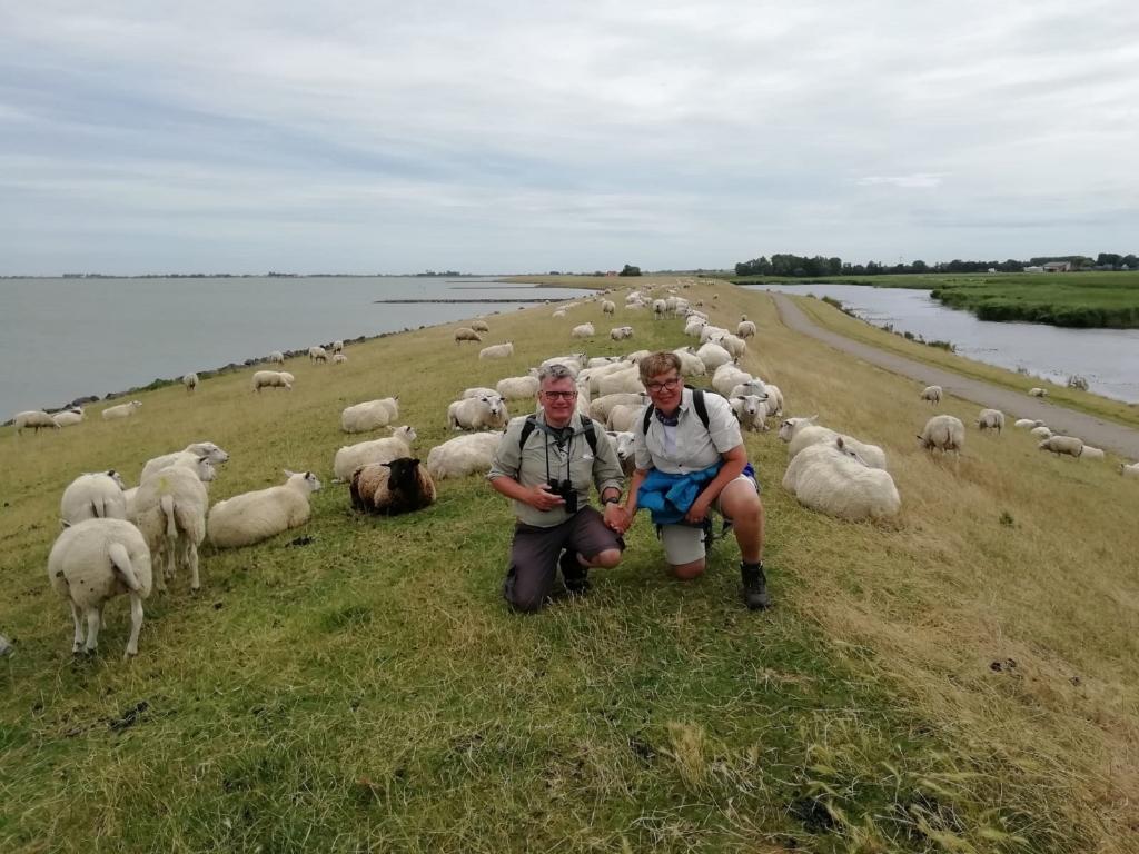 Deze foto is gemaakt langs de IJsselmeerkust tussen Stavoren en Hindeloopen met Rian en Yeb, 27 juli 2020. Yeb Seffinga © BDU Media