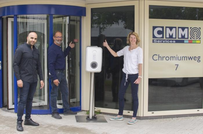 CMM Services geeft het keurmerk een plek op hun nieuwe pand