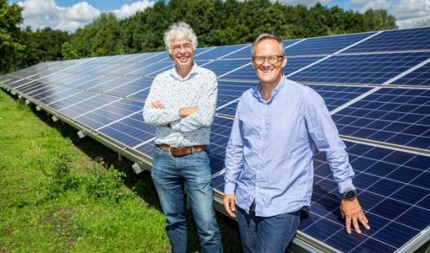 Eelco Boers (rechts) en Erik Alsema (links)