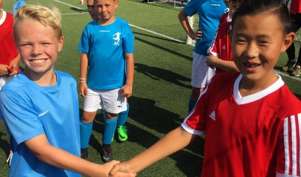 Ook sporten is een belangrijk onderdeel tijdens de Summer School.