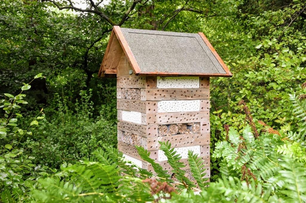 Een insectenhotel zorgt voor diversiteit. Joop Touw © BDU media