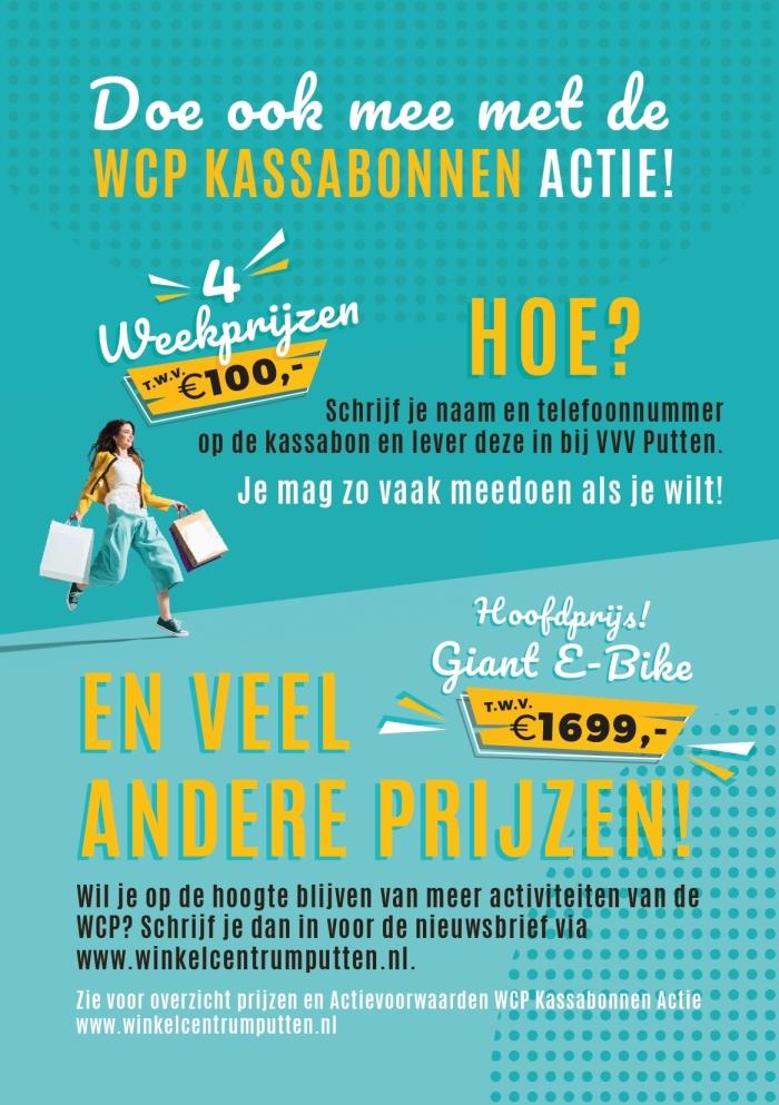 WCP Kassabonnen actie VVV Putten © BDU media