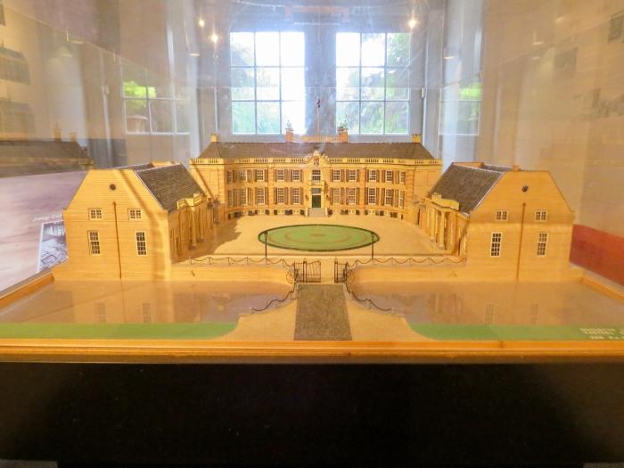 Maquette van het Landhuis en Landgoed Onno Wijchers © BDU media