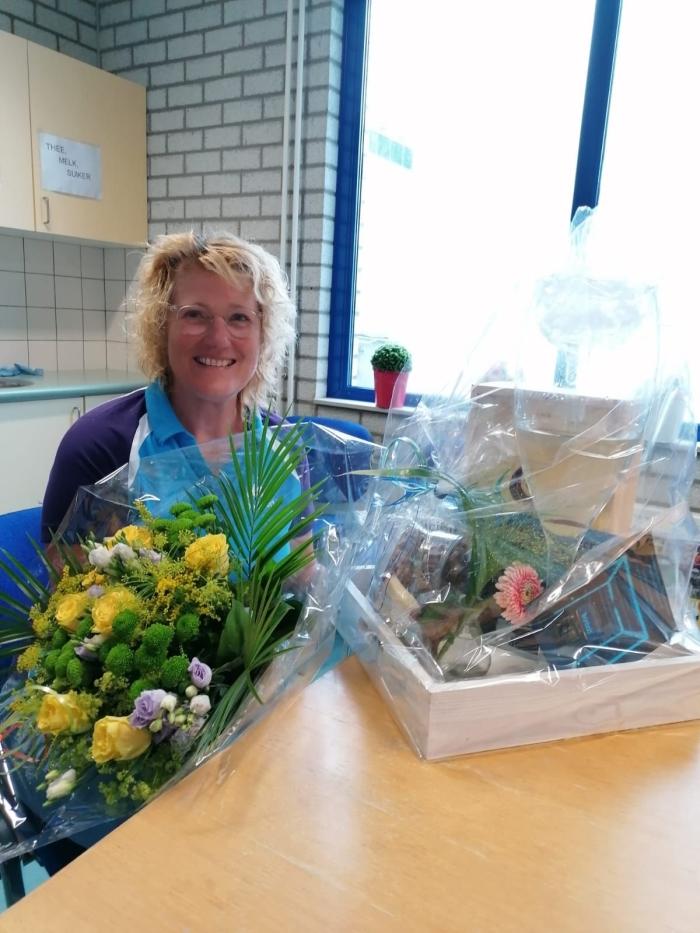 Netty 25 jaar in dienst bij Bronbad De Lockhorst