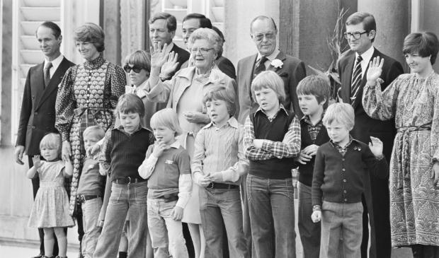 Koninklijke familie in de jaren '70 Nationaal Archief © BDU media